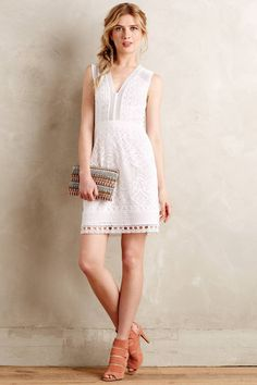 Modena Lace Dress by Nanette Lepore #anthrofave #anthropologie