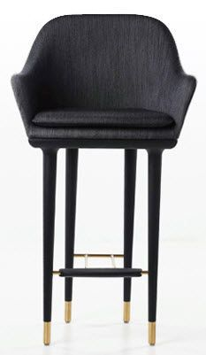 traditional bar chair LUNAR by P.B.Rutzou S.B.Henrik STELLAR WORKS
