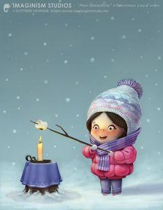 Marshmallow Christmas - LOL.