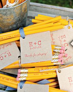 Personalized pencils for crossword puzzles