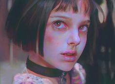Mathilda, First met, Yanjun Cheng on ArtStation at https://www.artstation.com/artwork/aO30X