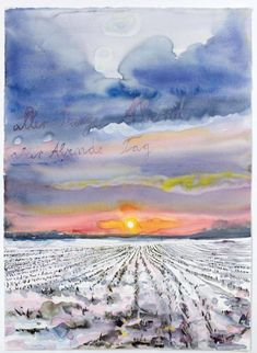 Aller Tage Abend, alle abends Tage, 2014 by Anselm Kiefer #FredericClad