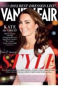 Kate Middleton: Vanity Fair's 2012 International Best Dressed