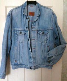 LEVI'S Vintage Mens Denim Jacket every cool guy had one! King Fashion, 80s Fashion, Sharp Dressed Man, Well Dressed Men, Vintage Levis, Vintage Men, Stylish Jackets, Denim Jacket Men, Grown Man