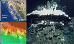 Upside down waterfalls and 35 foot high plumes of smoke: Astonishing undersea world found 12,500 feet down in deepest vent ever discovered in Pacific   Read more: http://www.dailymail.co.uk/sciencetech/article-3110251/Upside-waterfalls-35-foot-high-plumes-smoke-Astonishing-undersea-world-Californian-coast-deepest-vent-discovered-Pacific.html#ixzz3c7KEUwGQ  Follow us: @MailOnline on Twitter   DailyMail on Facebook