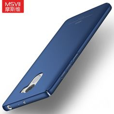 "Luxury for Redmi 4 pro prime Msvii Thin Hard PC Scrub Case For xiaomi redmi 4/4 pro 5.0"" Back Cover 360 Full Protection Housing"