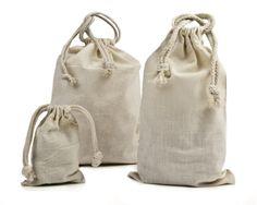 Cloth Bags - Cotton  Bolsos de tela - Algodón
