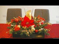 DIY a Big & Beautiful Christmas Center Piece Diy Christmas Decorations Easy, Christmas Centerpieces, Tree Decorations, Holiday Decor, Christmas Home, Christmas Wreaths, Xmas, Ball Ornaments, Big And Beautiful