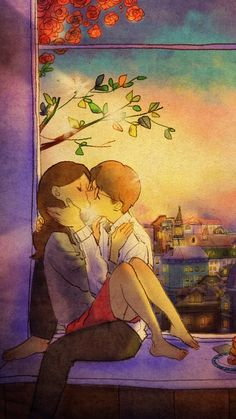 you will set the ideal in yourself and you will achieve it. I will too because our father comes first. I also value you as my most precious pearl. my treasure. good night and sweet dreams. un beso. Love Cartoon Couple, Cute Couple Comics, Cute Couple Art, Anime Love Couple, Cute Anime Couples, Cute Love Cartoons, Cute Cartoon, Cartoon Art, Cute Couple Drawings