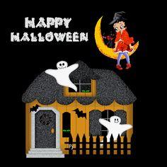 betty boop halloween pictures   Jumpy - Betty Boop Graphics - Halloween