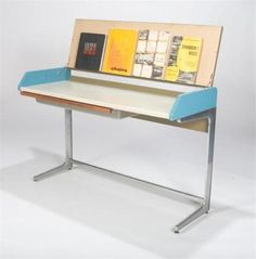 And so it started. Herman Miller-Action Office suite, the beginning of modular office furniture.
