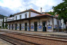 João Oliveira e Lourenço Limas | Estação Ferroviária do / Railway Station of Pinhão | 1936 #Azulejo #JoãoOliveira #LourençoLimas