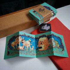 Francisco Lemos - Exploradores - Fanzine desplegable