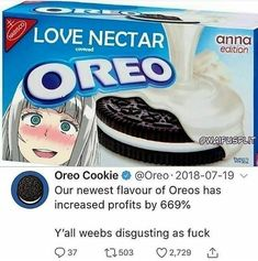 Best Memes, Dankest Memes, Funny Memes, Funny Today, Love Cover, Darling In The Franxx, New Flavour, Oreo Cookies, Daily Memes