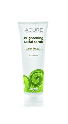ACURE Brightening Facial Scrub, 4 Ounce >>> Tried it! Love it! Click the image. : Face Exfoliators, Polishes and Scrubs