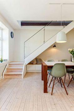 FINN – Tysklandsgården: Nydelig loftsleilighet med solrik takterrasse og hems.