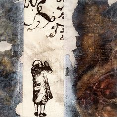 Tale of the Key 1, Linda Colsh, contemporary art quilting, figurative art quilts, textile arts, http://www.lindacolsh.com/