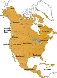 Indian tribes by Region