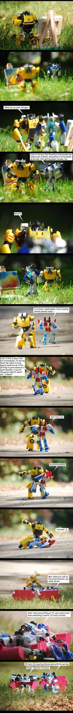 Art Theft - Backfired by The-Starhorse.deviantart.com on @DeviantArt