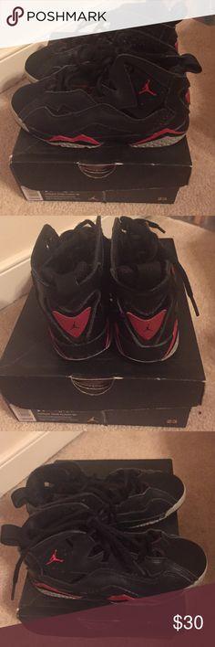 Boys black and red Jordan sneakers Jordan True Flight boy sneakers Jordan Shoes Sneakers