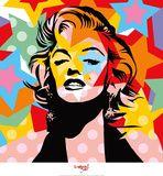 Marilyn Monroe Bandana | Marilyn Monroe Art Poster at AllPosters.com