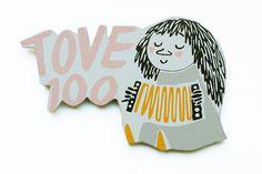 Muumimagneetti, Tove 100 vuotta, 4,90e The 100