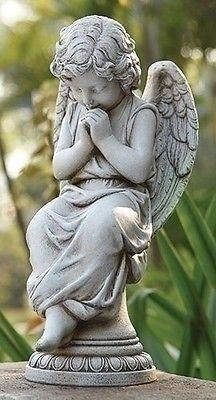 17-Josephs-Studio-Praying-Angel-on-Pedestal-Outdoor-Garden-Statue