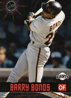 RARE 1996 TOPPS STADIUM CLUB MEMBERS ONLY BARRY BONDS SAN FRANCISCO GIANTS MINT