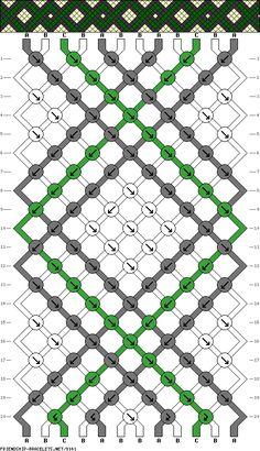 12 strings 20 rows 3 colors