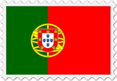 Portugal flag stamp by Firkin