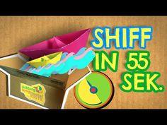 Schiffchen falten in 55 Sekunden - Achtung fertig Bastelkiste 6 - YouTube