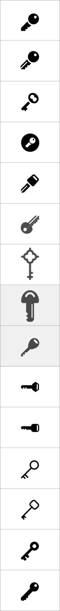 열쇠(면)