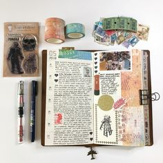 Some of my journal ramblings from last week. You know how I love a good ramble!! ... #journal #creativejournal #notebook #vintage #bujo…