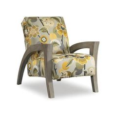 Sam Moore Grasshopper Exposed Wood Arm Chair Finish: Classic, Upholstery: 2134 Dove