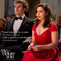 Me Before You by JoJo Moyes. I don't why this movie gets to me so much. Love it...