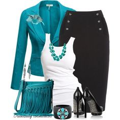 black and white houndstooth with turquoise - Google Search