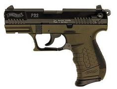 Walther Walther Walther P22 Military Green