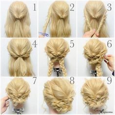 Hair braided updo frozen else look to it hochzeitsfrisuren photo 2019 - Braided Hairstyles Updo, Pretty Hairstyles, Easy Hairstyles, Girl Hairstyles, Easy Wedding Hairstyles, Frozen Hairstyles, Easy Braided Updo, Hairstyle Ideas, Easy Elegant Hairstyles