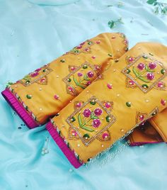 Blouse Back Neck Designs, Hand Work Blouse Design, Simple Blouse Designs, Stylish Blouse Design, Bridal Blouse Designs, Blouse Designs Catalogue, Maggam Work Designs, Pattu Saree Blouse Designs, Sleeve Designs