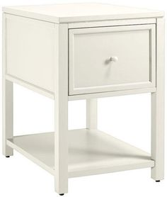 Or just a simple white file cabinet will do! Martha Stewart collection.  Alternate View