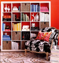 Nice post from the Decorologist about the many ways the IKEA Expedit bookcase can be used.