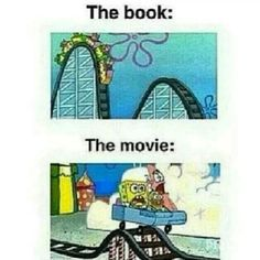 There's the book, and then there's the movie
