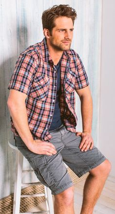 Great Men's Cargo Shorts in a variety of colours and lengths @Bootlegger