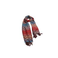 Pashmina Zig Zag Vermelha de Viscose #pashmina #pashimina #modafeminina #fashion #scarf #scarfs