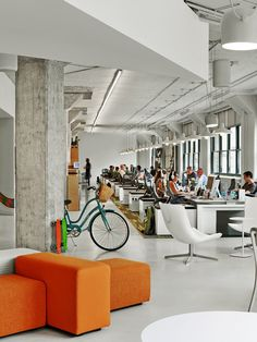 Arnold Worldwide's new workspace , New York, 2013 - TPG Architecture