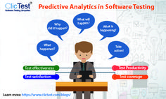 Importance of predictive analytics in software testing. Read more: http://bit.ly/29USv76