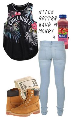 """""""Untitled #145"""" by simoneswagg ❤ liked on Polyvore featuring moda, Timberland e Marc by Marc Jacobs"""
