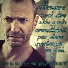 Biagio Antonacci Se io Se lei #musica