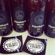 Hawkers Pale Ale drunk on BBB