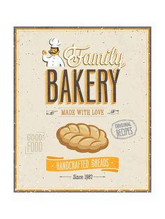 Vintage Bakery Poster Art Print at AllPosters.com